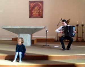 My first Bach to Baby concert